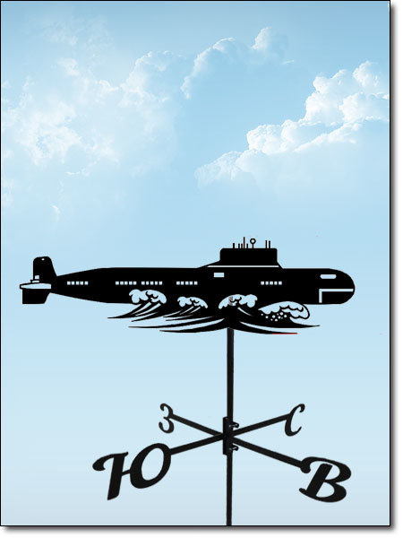 флюгер на крышу лодка